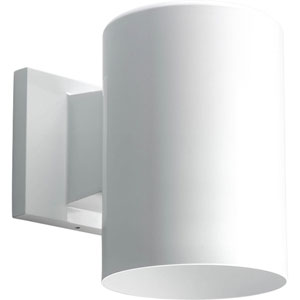 P5674-30/30K White 7.5-Inch One-Light LED Outdoor Wall Sconce