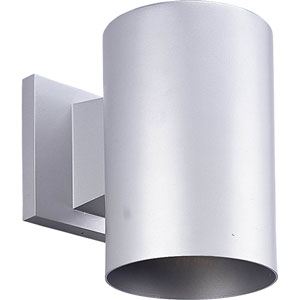 P5674-82/30K Metallic Gray 5-Inch One-Light LED Outdoor Wall Sconce