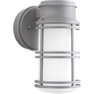 P5676-13630K9 Bell Textured Graphite One-Light Outdoor LED Wall Sconce