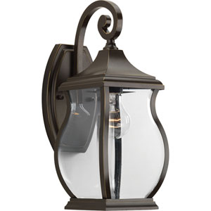 P5692-108 Township Oil Rubbed Bronze One-Light Outdoor Wall Sconce