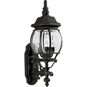 P5700-31:  Three-Light Onion Wall Lantern