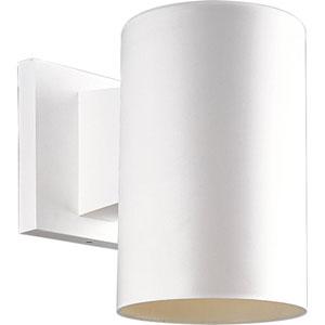 P5712-30:  White One-Light Outdoor Wall Lantern