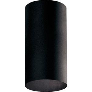 P5741-31:  Black One-Light Outdoor Flush Mount