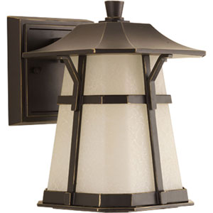 P5749-2030K9 Derby Antique Bronze One-Light Energy Star 6.5-Inch LED Outdoor Wall Lantern