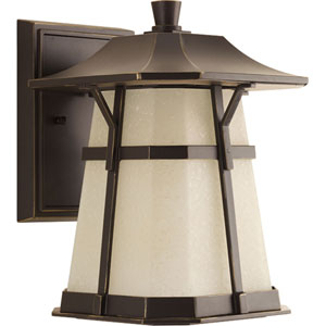 P5750-2030K9 Derby Antique Bronze One-Light Energy Star 8.5-Inch LED Outdoor Wall Lantern