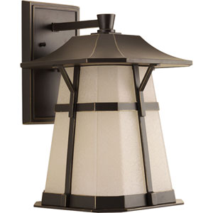 P5751-2030K9 Derby Antique Bronze One-Light Energy Star 11-Inch LED Outdoor Wall Lantern