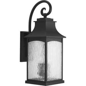 P5755-31 Maison Black Three-Light Outdoor Wall Sconce
