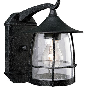 P5763-71:  Prairie Gilded Iron One-Light Outdoor Wall Lantern