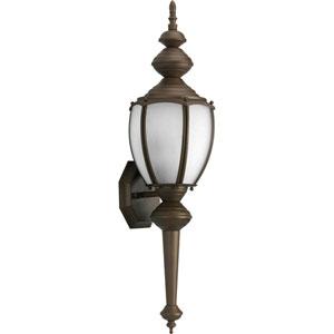 Roman Coach Antique Bronze One-Light Outdoor Wall Lantern