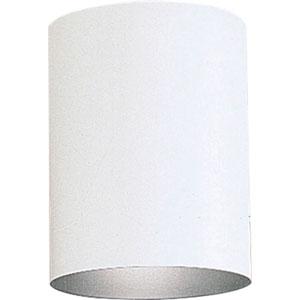 P5774-3030K White 5-Inch One-Light LED Outdoor Flush Mount