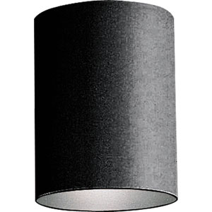 Cylinder Black One-Light Outdoor Wall Mount