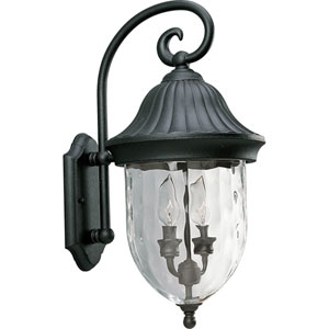 P5829-31:  Coventry Black Two-Light Outdoor Wall Lantern