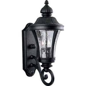 P5835-71:  Nottington Gilded Iron Two-Light Outdoor Wall Lantern