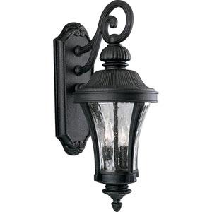 P5836-71:  Nottington Gilded Iron Two-Light Outdoor Wall Lantern