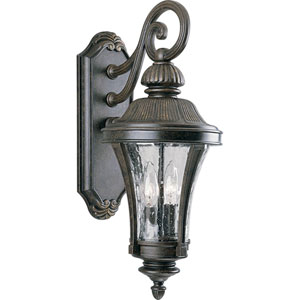 P5836-77:  Nottington Forged Bronze Two-Light Outdoor Wall Lantern