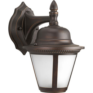 P5862-2030K9 Westport Antique Bronze One-Light Energy Star 7-Inch LED Outdoor Wall Lantern