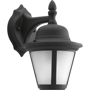 P5862-3130K9 Westport Black One-Light Energy Star 7-Inch LED Outdoor Wall Lantern