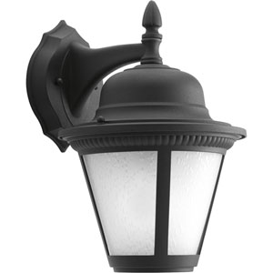 P5863-3130K9 Westport Black One-Light Energy Star 9-Inch LED Outdoor Wall Lantern
