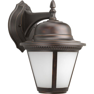 P5864-2030K9 Westport Antique Bronze One-Light Energy Star 11-Inch LED Outdoor Wall Lantern