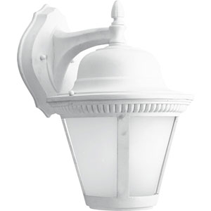 P5864-3030K9 Westport White One-Light Energy Star 11-Inch LED Outdoor Wall Lantern