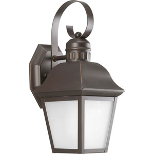 Andover Antique Bronze 12.62-Inch One-Light Outdoor Wall Lantern
