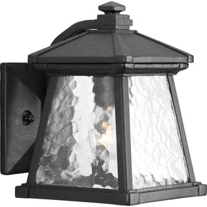 Mac Black One-Light Outdoor Wall Sconce