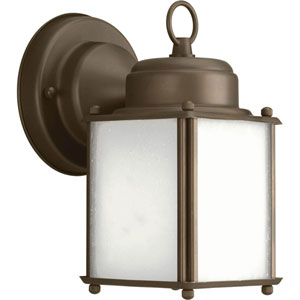 Roman Coach Antique Bronze One-Light 8.5-Inch Outdoor Wall Sconce
