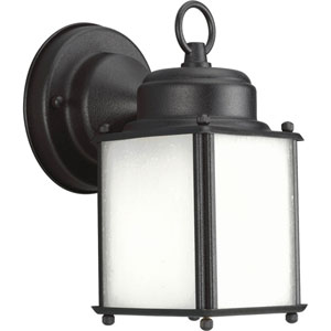 Roman Coach Black One-Light Outdoor Wall Sconce