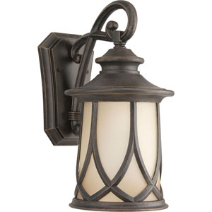 Resort Aged Copper 15.87-Inch One-Light Outdoor Wall Lantern