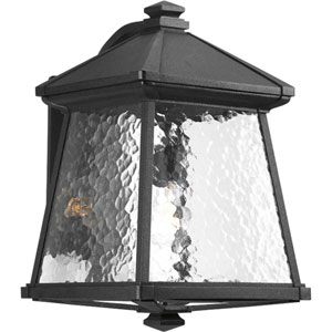 Mac Black One-Light Large Outdoor Wall Lantern