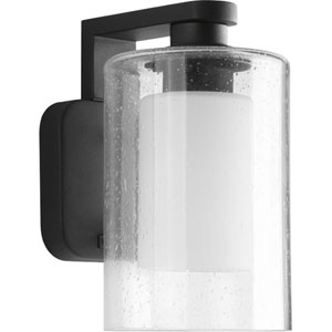 P6038-31 Compel Black One-Light 6-Inch Outdoor Wall Lantern