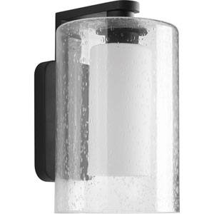 P6039-31 Compel Black One-Light 8-Inch Outdoor Wall Lantern