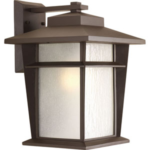 Loyal Antique Bronze One-Light 11-Inch Wide Fluorescent Outdoor Wall Sconce