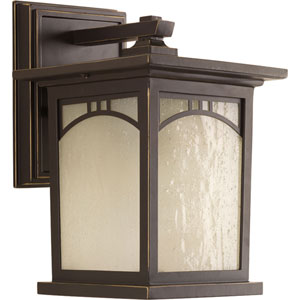 P6052-20 Residence Antique Bronze One-Light 6-Inch Outdoor Wall Lantern