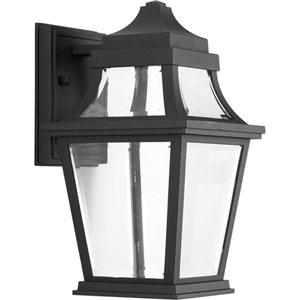 P6056-3130K9 Endorse Black One-Light Energy Star 7-Inch LED Outdoor Wall Lantern