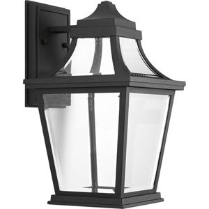 P6057-3130K9 Endorse Black One-Light Energy Star 9-Inch LED Outdoor Wall Lantern