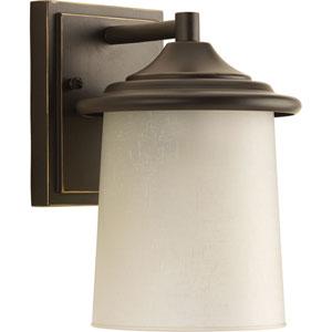 P6059-20 Essential Antique Bronze One-Light 6-Inch Outdoor Wall Lantern