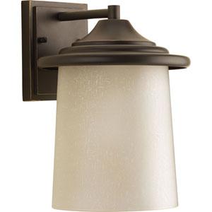 P6060-20 Essential Antique Bronze One-Light 8-Inch Outdoor Wall Lantern