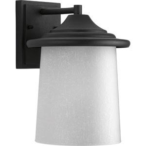 P6060-31 Essential Black One-Light 8-Inch Outdoor Wall Lantern