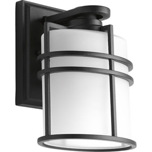 P6062-31 Format Black One-Light 6-Inch Outdoor Wall Lantern