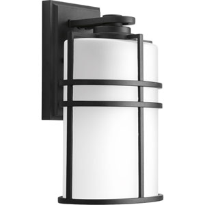 P6063-31 Format Black One-Light 7.5-Inch Outdoor Wall Lantern