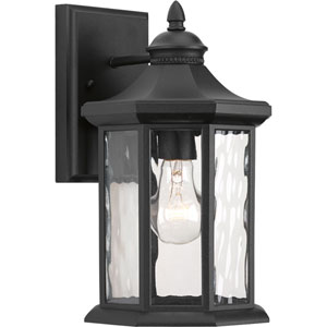 P6071-31 Edition Black One-Light 7-Inch Outdoor Wall Lantern