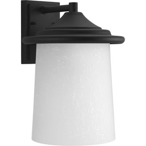 P6086-31 Essential Black One-Light Outdoor Wall Sconce
