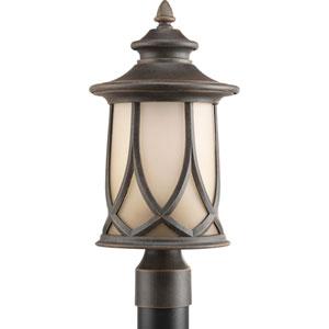 Resort Aged Copper One-Light Outdoor Post Lantern