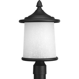 P6412-31 Essential Black Three-Light Outdoor Post Mount