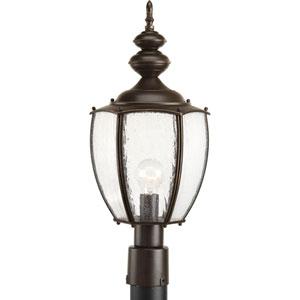 Roman Coach Antique Bronze One-Light Outdoor Post Lantern