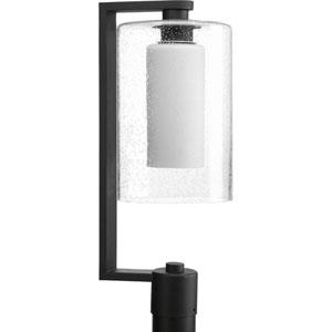 P6420-31 Compel Black 8-Inch One-Light Outdoor Post Lantern