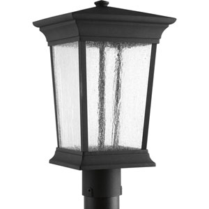 P6427-3130K9 Arrive Black 9-Inch One-Light LED Outdoor Post Lantern