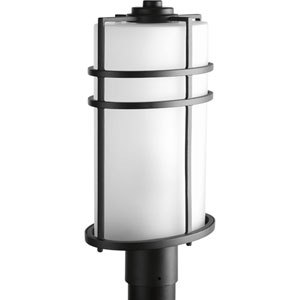 P6428-31 Format Black 9.5-Inch One-Light Outdoor Post Lantern