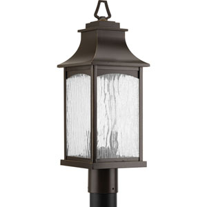 P6432-108 Maison Oil Rubbed Bronze Two-Light Outdoor Post Mount